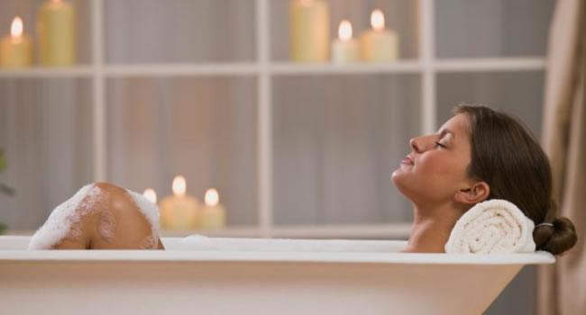 infusiones para la tos baño caliente